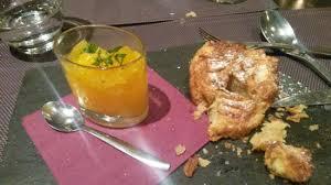 en cuisine restaurant brive kouign amann breton salade d oranges picture of restaurant