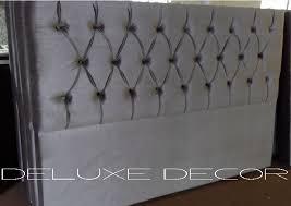 bedroom grey velvet tufted headboard bedrooms