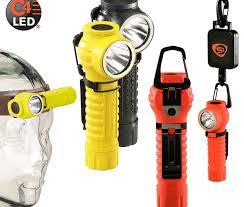 streamlight firefighter helmet light anclotefire com polytac 90 led flashlight
