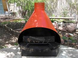 outdoor metal fireplaces round shape creative fireplaces design