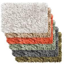 Shaggy Bathroom Rugs Sweet Home Collection Cotton Shag Bath Rug Reviews Wayfair