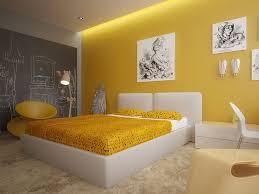 deco chambre jaune et gris chambre a coucher jaune et blanc la en 30 exemples murs gris