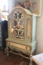 tattered elegance so elegant vintage china cabinet