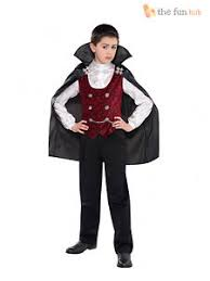 boys vampire costume age 4 14 halloween fancy dress costume count