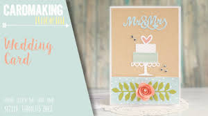Make A Invitation Card How To Make A Wedding Card Or Invitation Sizzix Big Shot Youtube
