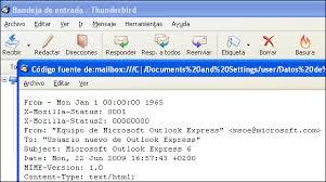 hotmail y los mensajes en el movil de dónde viene ese correo electrónico