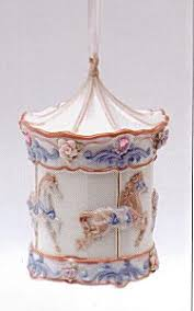 baby s musical carousel ornament