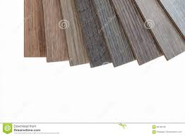 Brown Laminate Flooring Brown And Grey Laminate Flooring Samples On White Background Stock