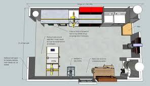Wood Shop Floor Plans Building The Ultimate Garage Woodshop 4 Sketchup Plans By