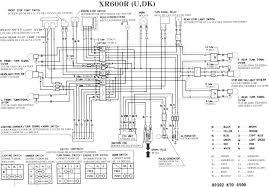 honda xr600r wiring diagram honda wiring diagrams instruction