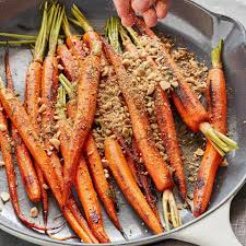 dukkah spiced carrots recipe eatingwell