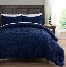 Pinched Duvet Cover Ruched Bedding 2 Piece Comforter Set Pinch Pleat Bed Cover
