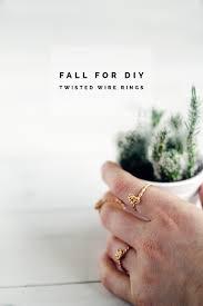 diy twisted rings