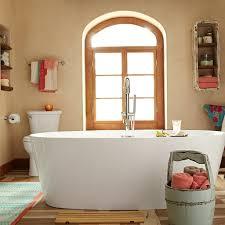 Acrylic Freestanding Bathtub Coastal Serin Freestanding Soaker Tub American Standard