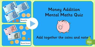 money addition mental maths powerpoint money money addition