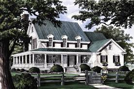 10 southern house plans wrap around porch of samples country home