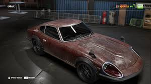 nissan fairlady 240zg need for speed payback come ottenere la nissan fairlady 240zg