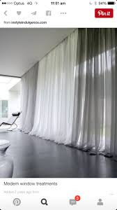 Long Window Curtains by