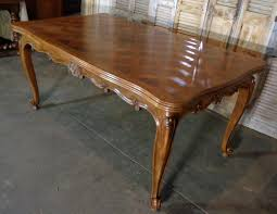 antique country french louis xv style provencal walnut dining