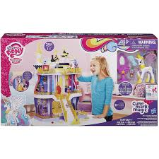 my little pony cutie mark magic canterlot castle play set