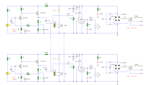 2 phone intercom circuit diagram which can be used upto 1km in