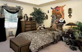 Jungle Home Decor Cheap Decorating Ideas For Kids Rooms With Animal Jungle Theme