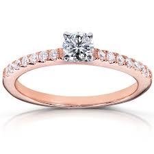 Wedding Rings Rose Gold by Engagement Rings Princess Cut Halo Stunning Princess Halo