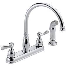 four kitchen faucet kitchen faucets handle kitchen faucet with side spray