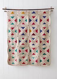 kantha stitched wall hanging