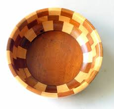 Fruit Bowls by Woodcroftery Wooden Bowl Company Vintage Wooden Wood Cambridge