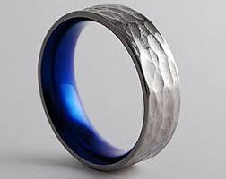black titanium wedding bands titanium rings by romasbanaitis on etsy