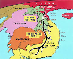 Map Of Cambodia Vietnam War 1970 Map Of The Ho Chi Minh Trail 18 Mar 197 U2026 Flickr