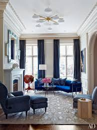 Modern Furniture Living Room Before And After A Magnificent Nyc Townhouse Restoration Living