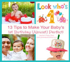 baby s 1st birthday 10 tips to make your baby s 1st birthday party almost