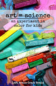 art equals science paint solubility project for kids left brain