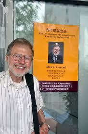 lsu landscape architecture professor max conrad teaches and