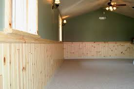 Paneling For Basement by Wainscoting Styles Egular 1x4 Pine Paneling Wainscoting W 2x4