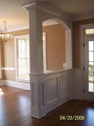 How To Build An Interior Wall Trim Interior Columns Interior Woodworks Inc Interior Trim