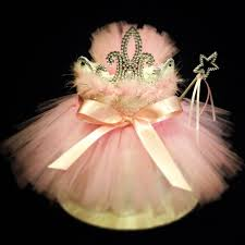 this 2 tier princess tutu diaper cake makes a great baby shower or