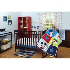 Mickey Mouse Crib Bedding Unique Mickey Mouse Hello World Crib Bedding Set Bru Pictures