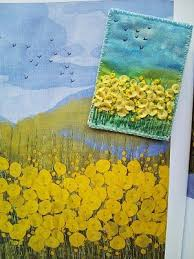 17 best images about postcard quilts on pinterest watercolor
