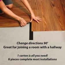 8 pc vinyl plank flooring transition strips borders trim join