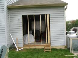 Framing Patio Door Living Room Project 2 Z A R S C O M