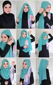 tutorial jilbab ala ivan gunawan ini dia kumpulan tutorial aneka hijab terbaru zonamama