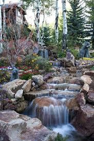 Backyard Waterfall Ideas Backyard Pond Waterfall Pics Garden Ponds And Waterfalls Designs