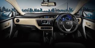 toyota corolla 2017 interior toyota corolla altis new toyota corolla altis the global sedan