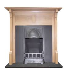 rennie mackintosh oak mantel fireplace surround