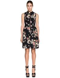 cue dress shoptagr floral zip front dress by cue
