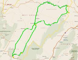 A Map Of West Virginia by Franklin West Virginia U2013 Toadmama Com