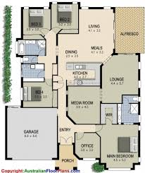 incredible 4 bedroom plus office house plans design ideas 2017